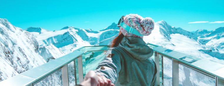 narty dziewczyna